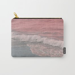 Pink Waves Beach Carry-All Pouch