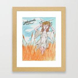 Lughnasadh Reveler Framed Art Print