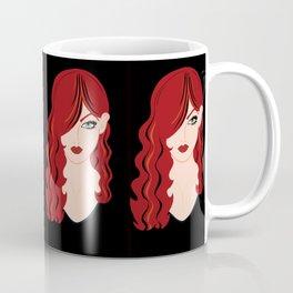 Red Woman Coffee Mug