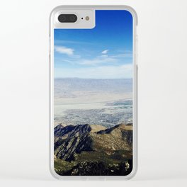 Over The Edge Clear iPhone Case