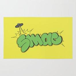Smac UFO Throwie Rug