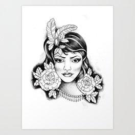 Rosely Art Print