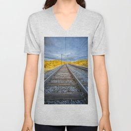 Train to Nowhere Unisex V-Neck