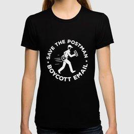 Boycott E-mail - Postman, Postman T-shirt