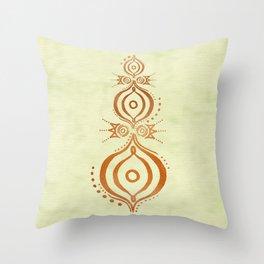 Oriental Wisdom Throw Pillow