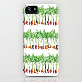 Funky Vegetables iPhone Case