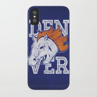 denver iPhone & iPod Cases featuring Denver by d.bjorn