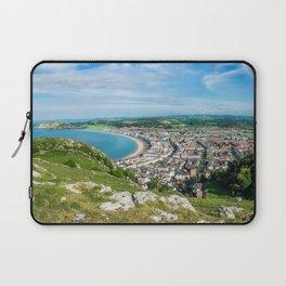 Llandudno Panorama Laptop Sleeve