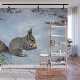 Tasty nut Wall Mural