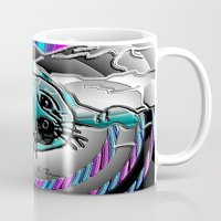seal Mugs featuring Baby seal by JT Digital Art