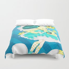 In the Sky: Rosalina Duvet Cover