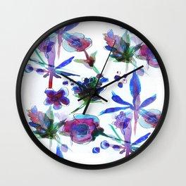 Blueberry Kush Wall Clock