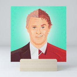 Two Faces of Ole Gunnar Solskjaer Mini Art Print