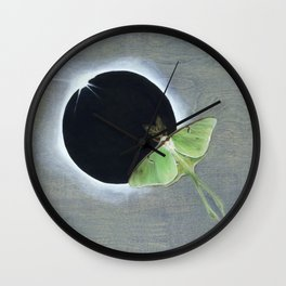 A fleeting moment Wall Clock