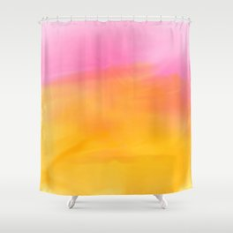 Abstract Watercolor Soft Background Shower Curtain