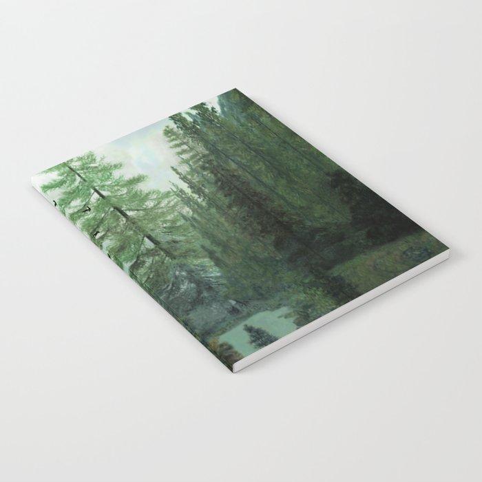 Mountain Morning 2 Notebook