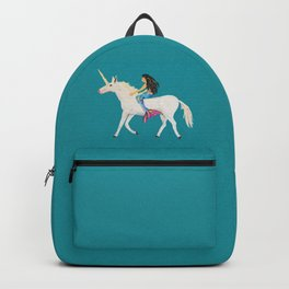 To the Land of Mermaids and Unicorns Backpack