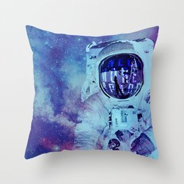 SPACEMAN Throw Pillow