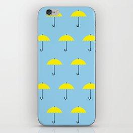 HIMYM Yellow Umbrella iPhone Skin