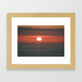 the dying heat Framed Art Print