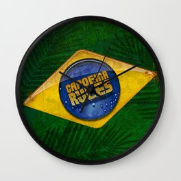 CAPOEIRA RULES - Original Wall Clock
