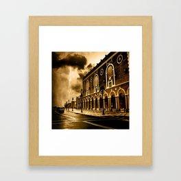 Convention Framed Art Print