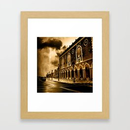 Convention Framed Art Print