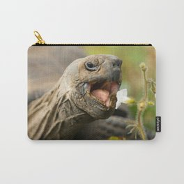 Cute Tortoise Eating - Beautiful Carry-All Pouch