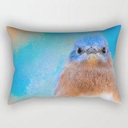 Blue Is Beautiful Rectangular Pillow