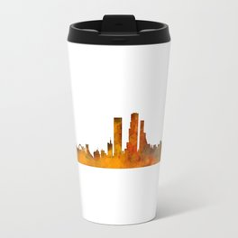 Bogota City Skyline Hq V1 Travel Mug