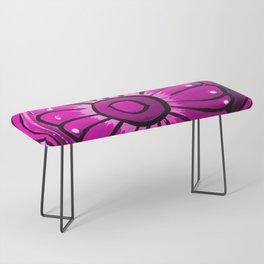 Talavera Hot Pink Bench