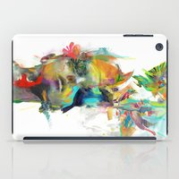 black cat iPad Cases featuring Dream Theory by Archan Nair