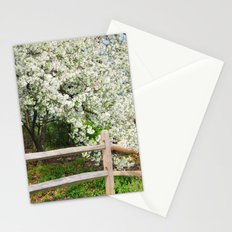 Crab Apple in bloom Stationery Cards