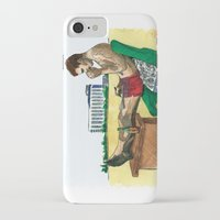 hunter s thompson iPhone & iPod Cases featuring Hunter S. Thompson, The Rum Diary by Abominable Ink by Fazooli