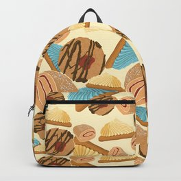 Cookie Dreams - Cream-Blue-Yellow Backpack