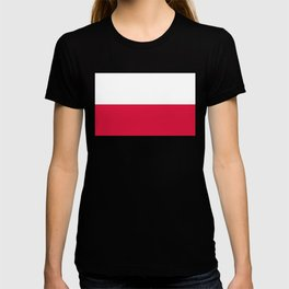 Flag of Poland - Authentic (High Quality Image) T-shirt
