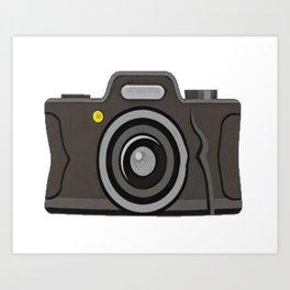 Camera Light Optical Instrument Record Images Capture Sensitive Art Print