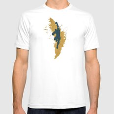 Feed The Tiger (Homage To Sagat) Mens Fitted Tee White MEDIUM