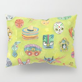 Lucia The Luchadora And The Million Masks Pillow Sham