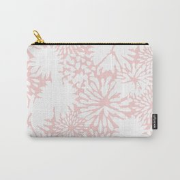Rose Zinnia Carry-All Pouch