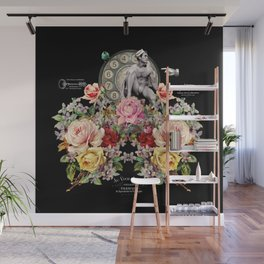 Nuit des Roses Revisited for Him Wall Mural