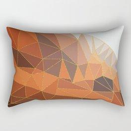 Autumn abstract landscape 5 Rectangular Pillow