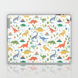 Dinos + Volcanoes Laptop & iPad Skin