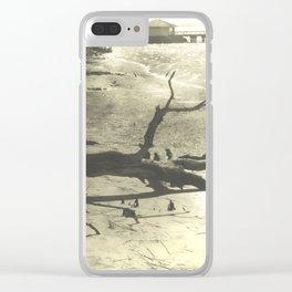 Pier Landscape Clear iPhone Case