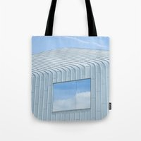 architecture Tote Bags featuring Architecture by Mark Spence