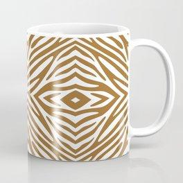 Brown Sugar Neutral Zebra Coffee Mug