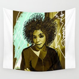 Woman N17 Wall Tapestry