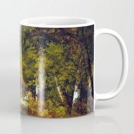 Narcisse-Virgile Diaz de la Peña Forest Scene Coffee Mug