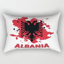 Albanian Kosovo Eagle Gift Rectangular Pillow