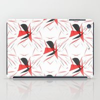 contemporary iPad Cases featuring Contemporary Abstract by lillianhibiscus